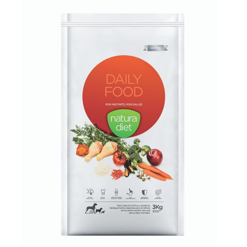 natura diet daily food pienso natural perros