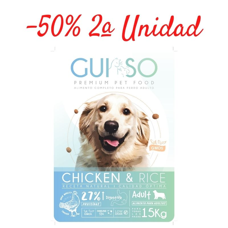 promocion guiso adult chicken