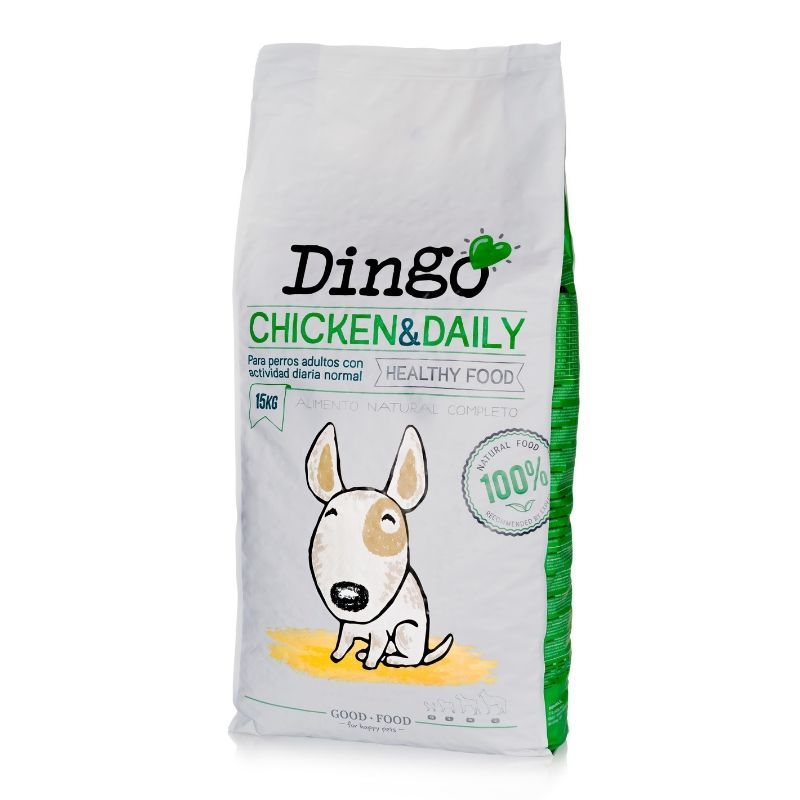 dingo adult & daily pienso natural perros