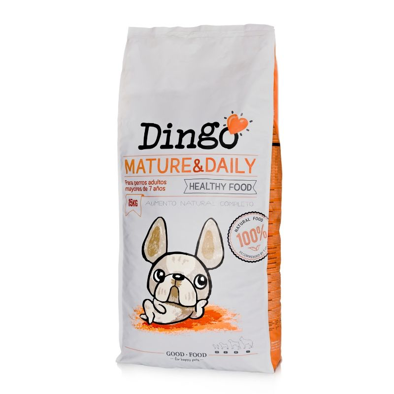 dingo pienso natural perros senior