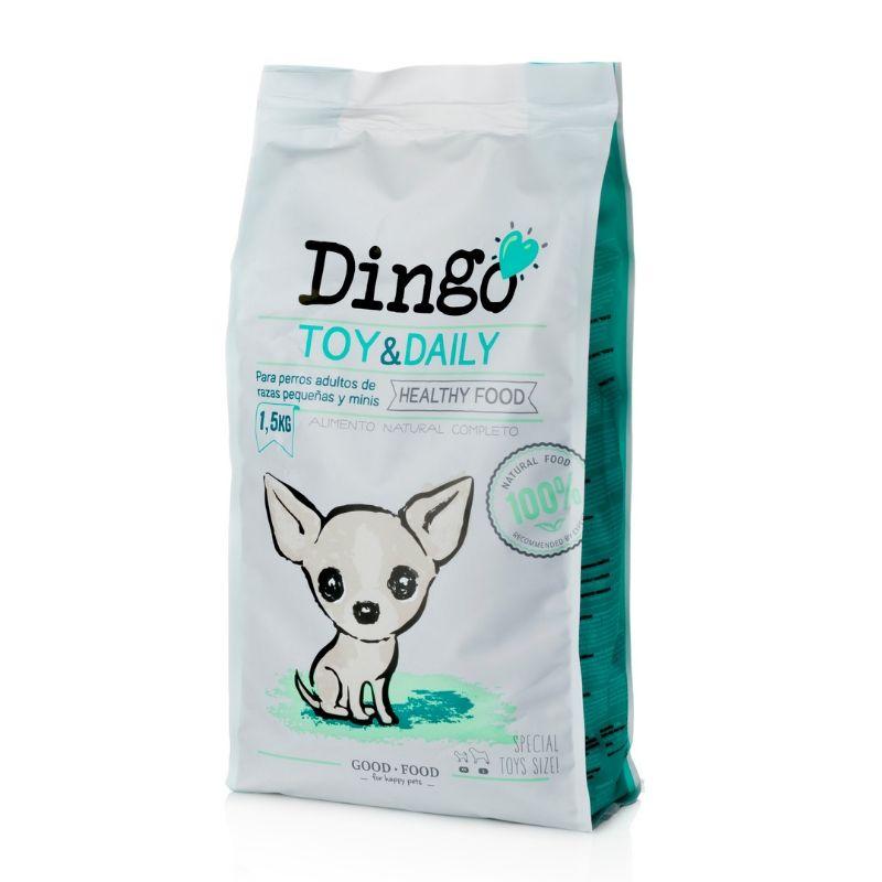 dingo toy & daily pienso razas pequeñas