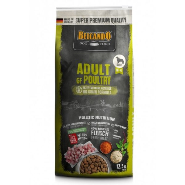 belcando adult grain free poultry