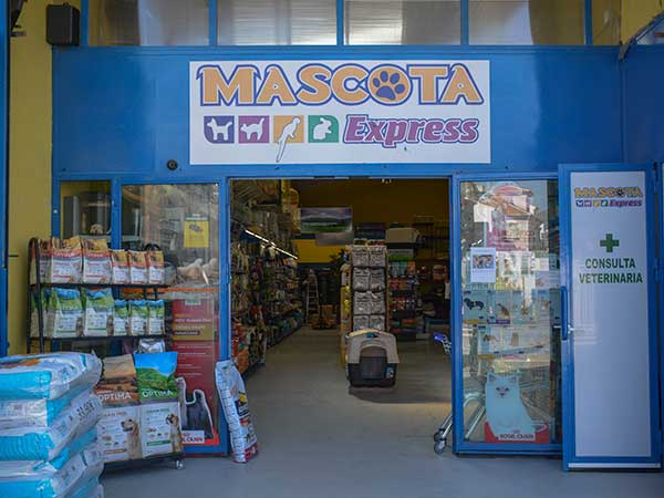 Tienda animales Vélez Málaga, Mascota Express
