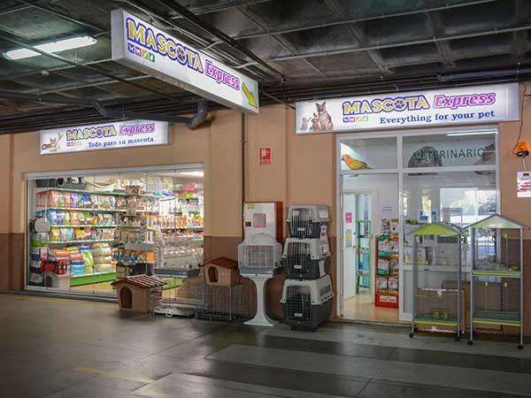 Tienda de animales Coín, Mascota Express