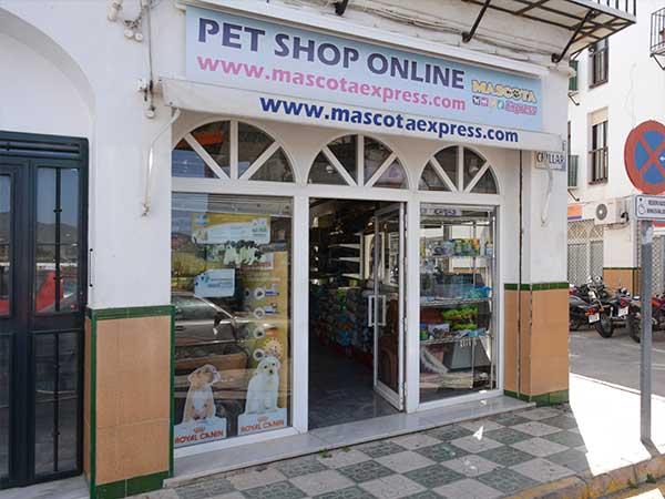 Tienda de animales Nerja, Mascota Express