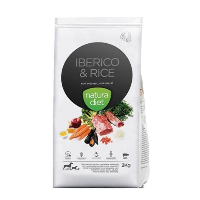 natura diet iberico pienso natural perros cerdo