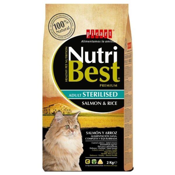 nutribest gato esterilizado
