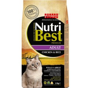 picart nutribest gato adult pollo y arroz