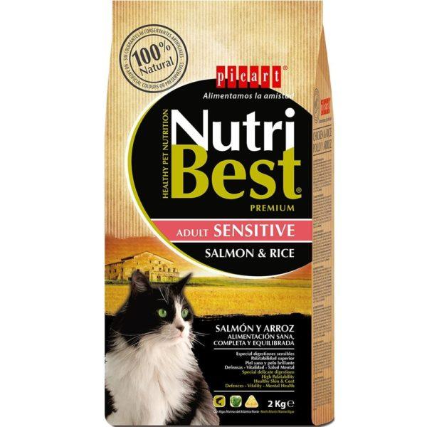 picart nutribest gato adult sensitive salmon y arroz