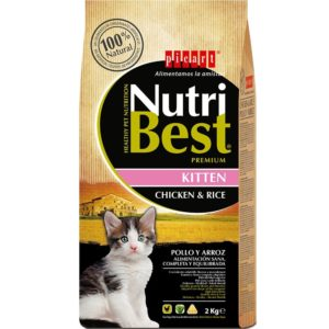 picart nutribest kitten pollo y arroz