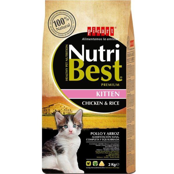 picart nutribest kitten pollo y arroz