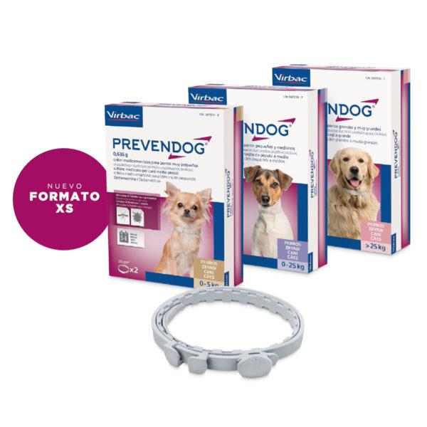 collar antiparasitos para perros prevendog